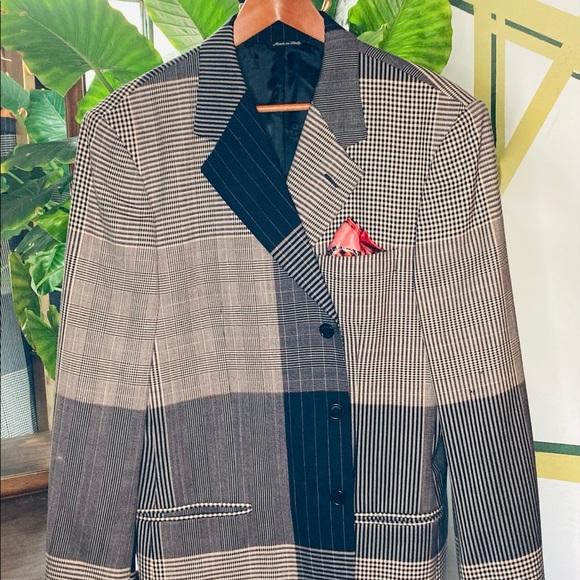Vintage 1980s Men/'s Suit